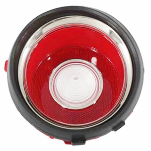 Trim Parts: A6708 / New 1970-1971 Early Camaro R/S Back Up Light Lens, RH