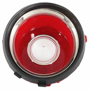 Trim Parts: A6708A / New 1970-1971 Early Camaro R/S Back Up Light Lens, LH