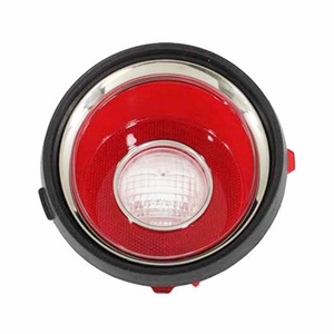 Trim Parts: A6709A / New 1971-1973 Late Camaro R/S Back Up Light Lens, LH