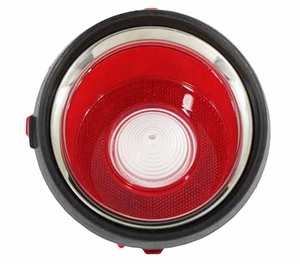Trim Parts: A6711 / New 1970-1971 Early Camaro Back Up Light Lens, RH