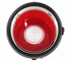 Trim Parts: A6711A / New 1970-1971 Early Camaro Back Up Light Lens, LH