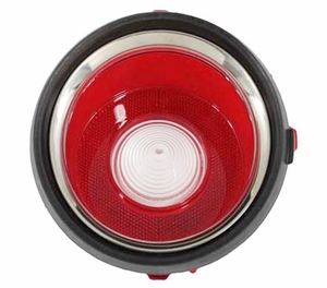 Trim Parts: A6712 / New 1971-1973 Late Camaro Back Up Light Lens, RH
