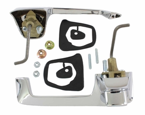 Trim Parts: MP5225 / New 1967.5-1971 Dodge Truck Outside Door Handle Set