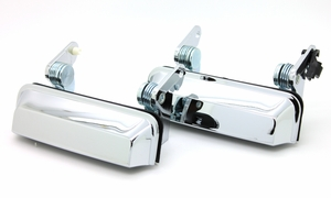 Trim Parts: MP5240 / 1971-1972 MOPAR B-Body New Chrome Door Handles PAIR