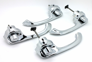 Trim Parts: New 1968-1969 Front Outside Door Handles / Set or Four