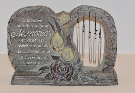 Memories Garden Stone/Chimes OUT OF STOCK