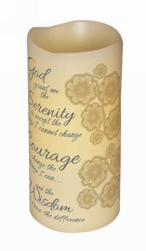 Serenity Flamless Candle