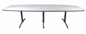 10 ft. Used Boat Shaped Table