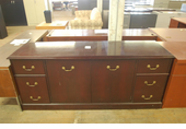 20x72 Used Wood Traditional Credenza