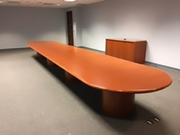 25 Foot Veneer Conference Table