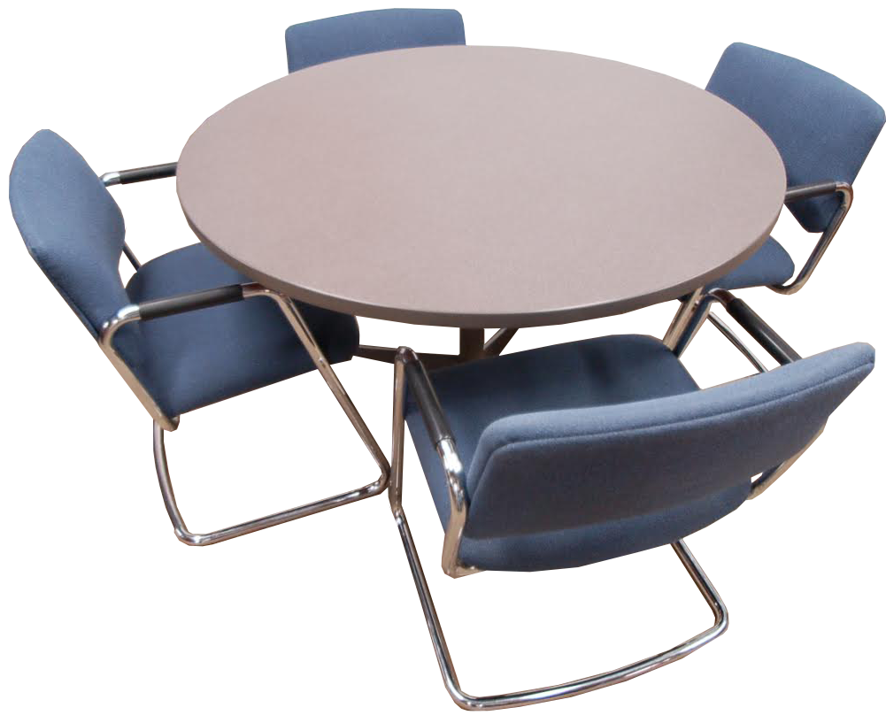 48 Round Table W Chairs