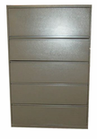 "42"" 5 Drawer Meridian Lateral File"
