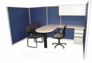 5x10 Instant Office Sales Cubicle