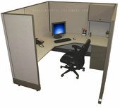 6x6 Tall Wall Office Cubicles
