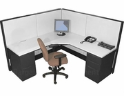 "6x6 ""Fusion"" Office Cubicles"