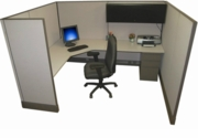 6x8 Tall Wall Acoustical Cubicles
