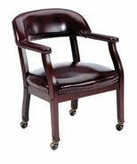 Captain's Chair w/casters S3-71