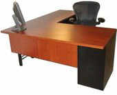Custom Fisher L-Desk