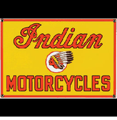Custom Indian Motorcycles Sign