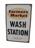 Custom Vintage Farmers Market Sign