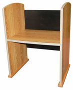 Custom Wood Study Carrels