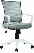 Description: Managerial Chair with plastic arms and built in lumber support
