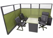 Glass Top Cubicles