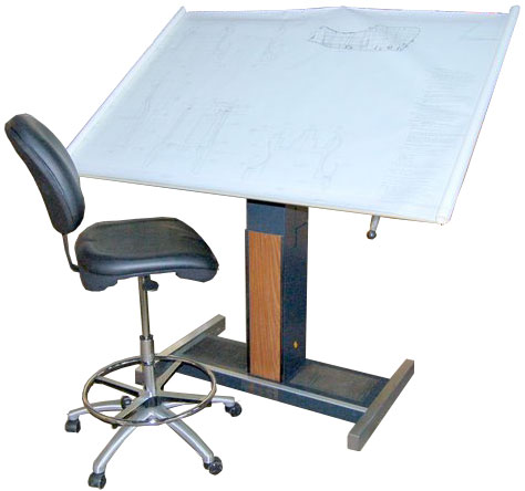 Hamilton Electric Drafting Table - Electric drafting table