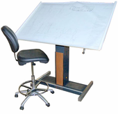 Hamilton Electric Drafting Table