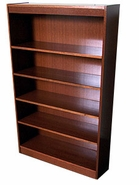 Hardwood Five-shelf Bookcase