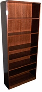 Hardwood Seven-shelf bookcase