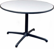 "Herman Miller 42"" Round Lt Gray Table"