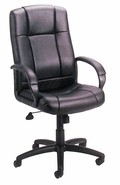 High Back Executive Chair with Upholstered Arms