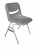 Used KI Stacking Dorsal Flexi-Back Chairs