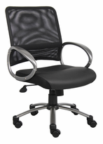 Loop Arm Mid-Back Mesh Managers Chair