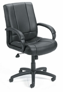 Mid-Back Managers Chair with Upholstered Arms