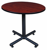 New 36 Round table with metal base