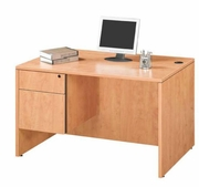 """Mini"" Single Pedestal Desk"