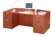 """36/41 x 71 - Bow front Desk"