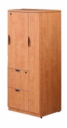 New Laminate Wood Wardrobe / File / Storage Cabinet with locks.