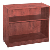 New Wood Laminate – 2 Shelf Bookcase with Fixed Shelves.