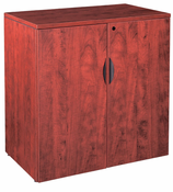 "New Wood Laminate – 36"" Tall 2 Door Storage Cabinet with lock."