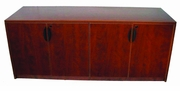 New Wood Laminate - 4 Door Credenza