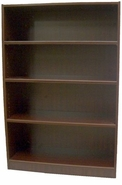 New Wood Laminate - 4 Shelf Bookcase with Fixed Shelves.