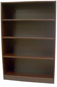 New Wood Laminate – 4 Shelf Bookcase with Fixed Shelves.