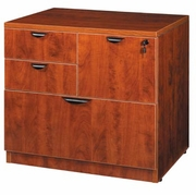 New Wood Laminate - Combo Lateral File with locks.