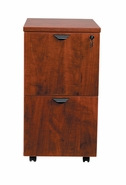 New Wood Laminate - Mobile File-File Pedestal File with lock.