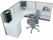Open office cubicles
