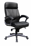 Pewter High Back Executive Chair