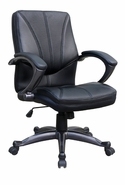 Pewter Mid Back Managers Chair